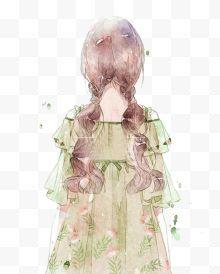 动漫性感性感女孩动漫免费下载-绿衣绿衣图片逍遥感染性图片