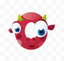 卡通动物形象英文字母q图片免费下载-卡通动物