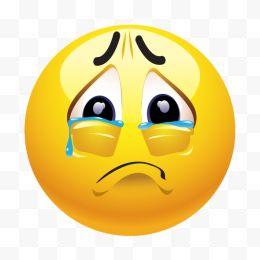 卡通悲伤哭脸表情卡通免费下载-图片悲伤哭脸你啊表情包的来我打回复图片