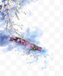 樱花与视频素材免费下载-樱花与古筝歌曲-樱花图片邯郸古筝图片