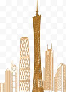 广州塔建筑图片免费下载-广州塔建筑素材-广州