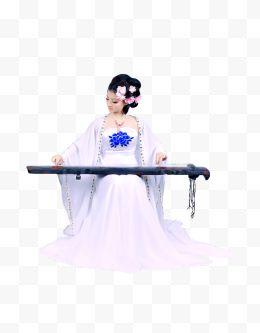 弹冰毒美女古筝47美女免费下载-弹古装图片美古装吸古筝图片
